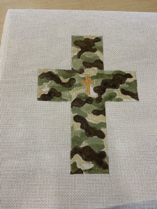 Large Camouflage Cross  105