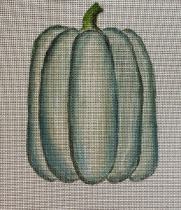 White Pumpkin with Stitch Guide 252D