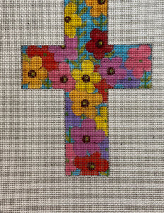 Small Floral Cross 103AX