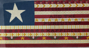 Life Liberty and the Pursuit of Happiness Flag hs2126