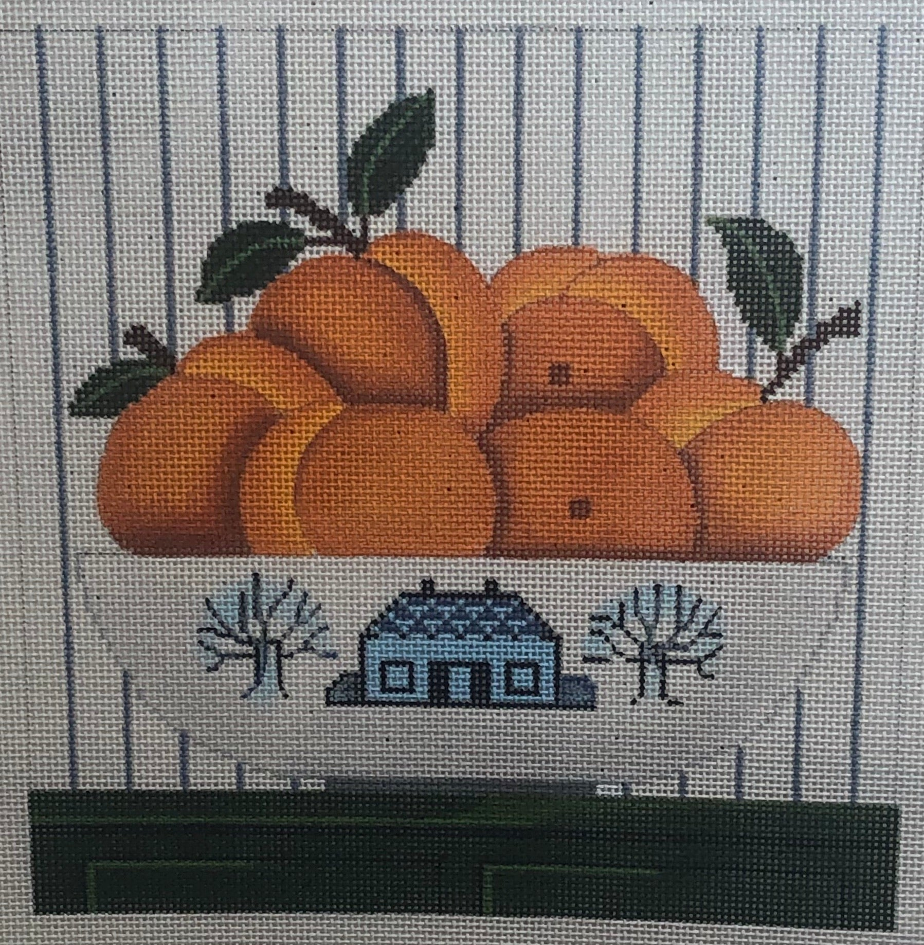 Orange bowl still life 344