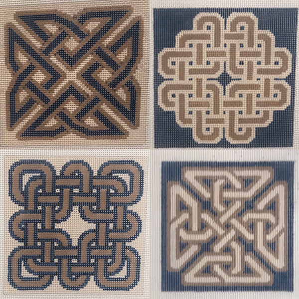 Celtic knot coasters MH0505