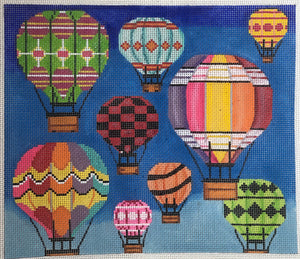 ap2526 Hot air Balloons in flight