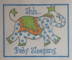 SHH...baby sleeping blue jw-dh-03