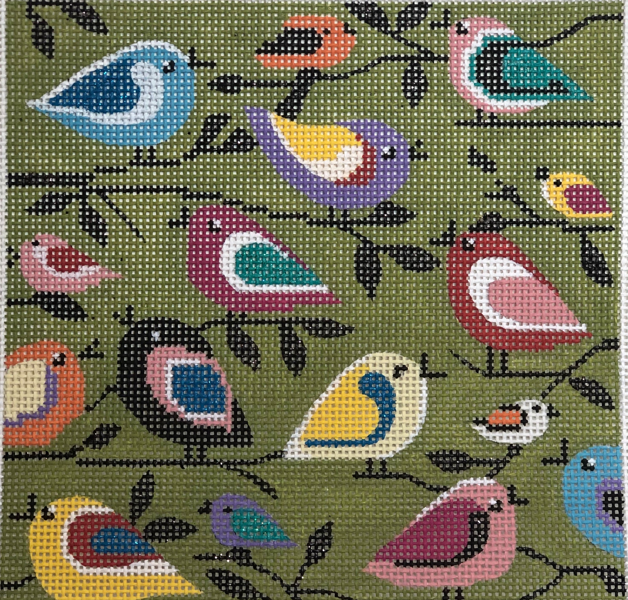 Ap 2293 Birds of a different color