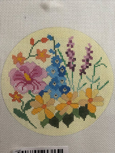 KB1481 Wildflowers Round