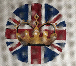 COP IN 364 Traditional British Flag with Crown r/w/b