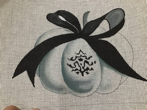 COLORS OF PRAISE ELEGANT PUMPKIN WITH RIBBON FF243