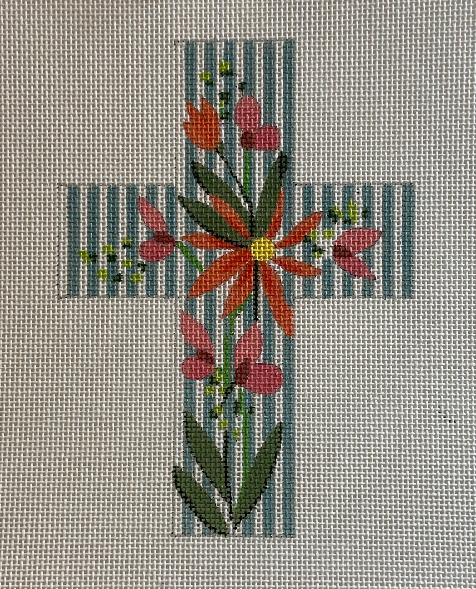 Small Floral Cross 103 A