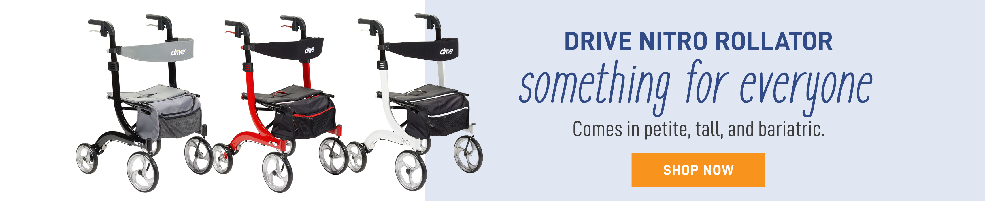 Nitro-a rollator for everyone!