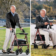 Rollator/Transport Chair Benefits