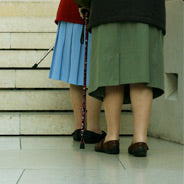 Taking Stairs With Your Cane