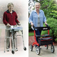 Comparing Walkers and Rollators