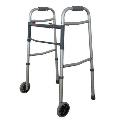 "ProBasics Economy Two-Button Walker with 5"" Wheels"