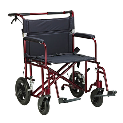 "Drive 22"" Bariatric Transport Chair"