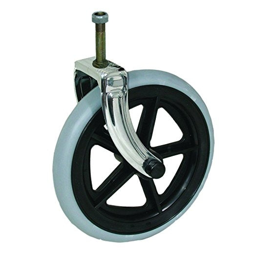"8"" Front Wheel Assembly for all Transport Chairs"