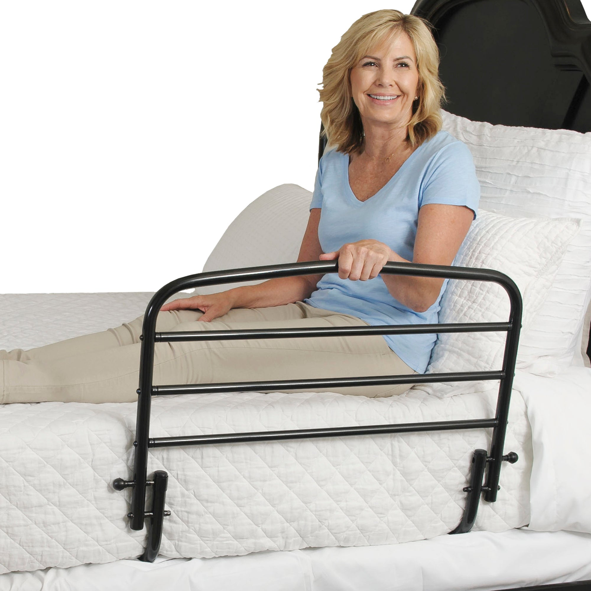 "Stander 30"" Bed Rail (With or Without Padded Pouch)-With Padded Pouch"