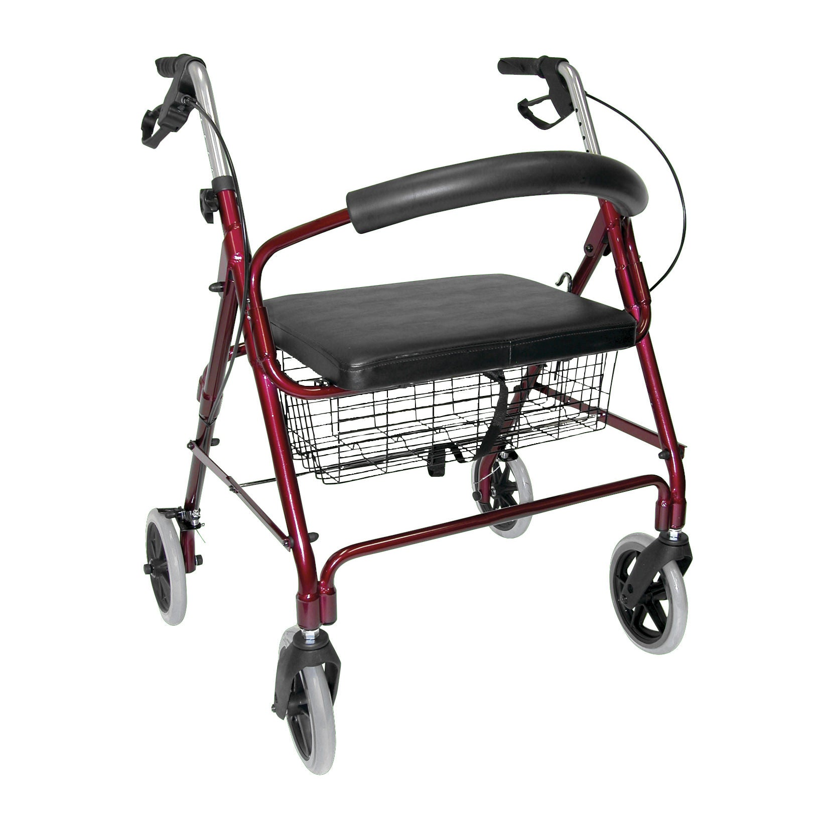 Mabis Lightweight Extra-Wide Heavy-Duty Rollator