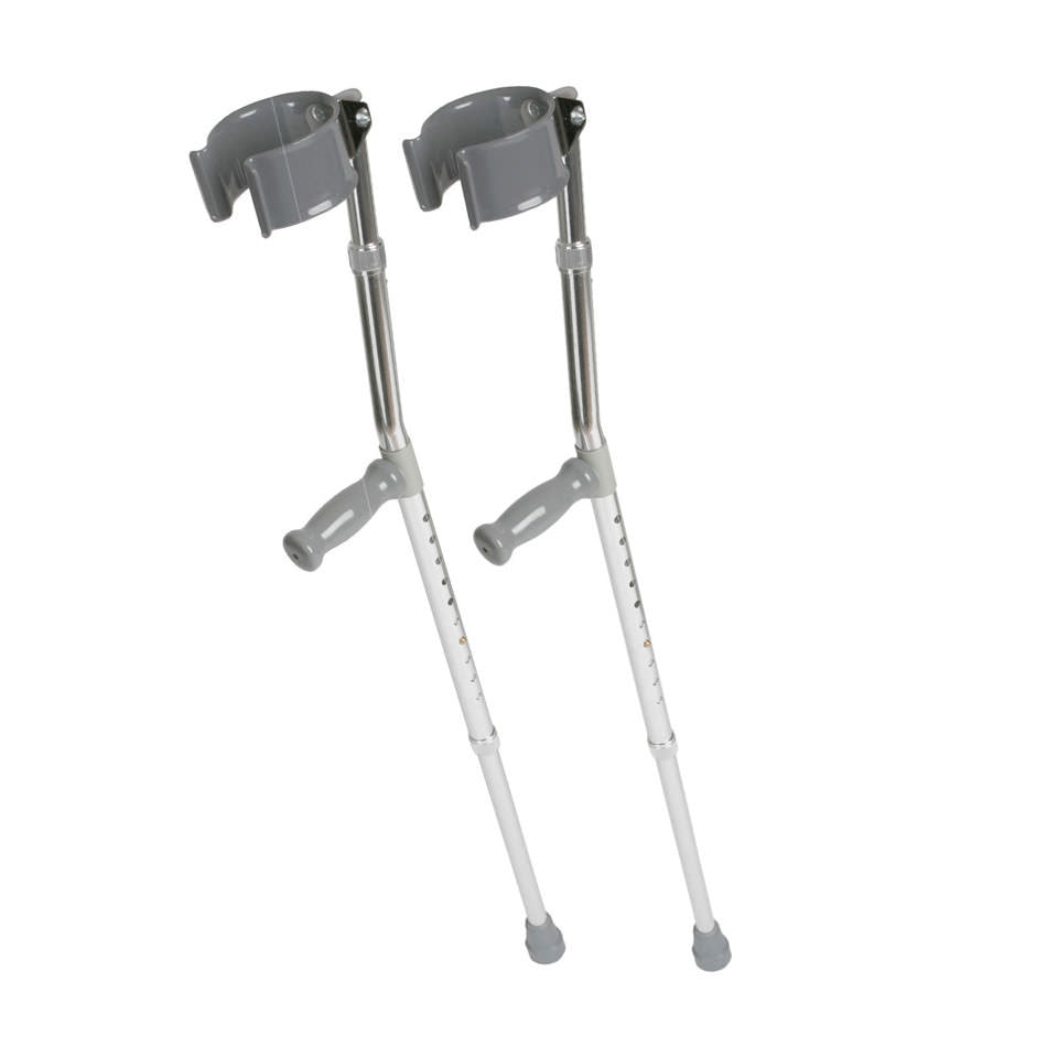 Medline Forearm Crutches-Adult