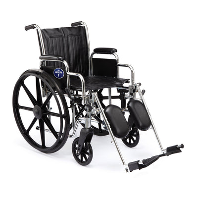 Medline Black Excel 2000 Wheelchair