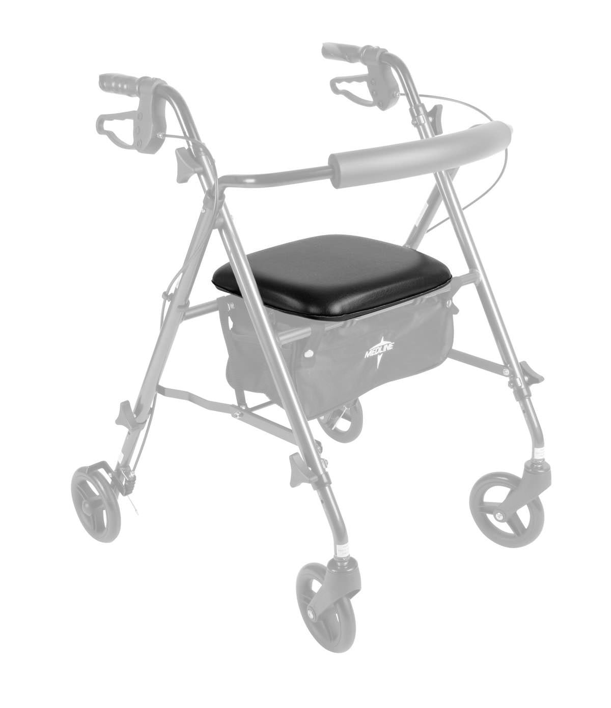 Seat Assembly with Hardware for Medline Ultralight Freedom Rollator