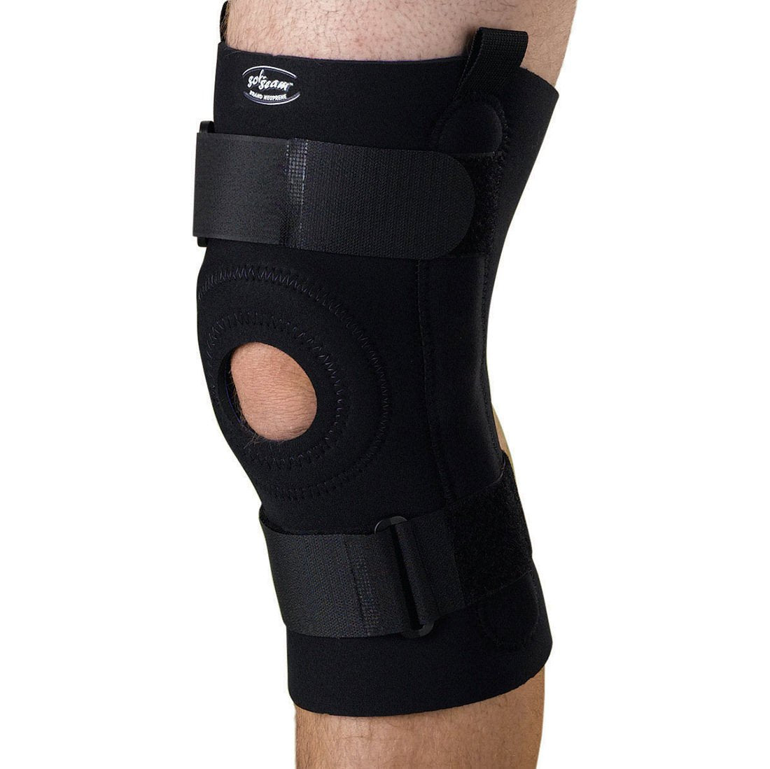 U-Shaped Hinged Knee Support