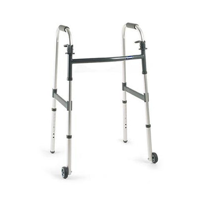 Invacare Dual Release Wheeled Walker