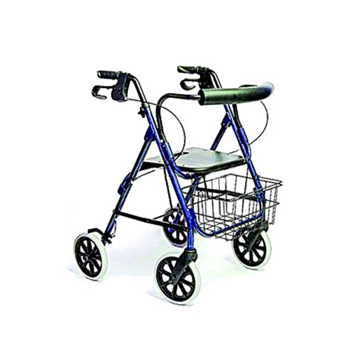 Adult Deluxe Rollator-Blue