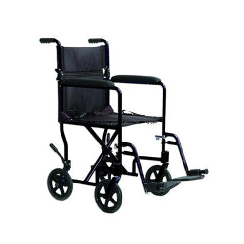 Black Transport Chair