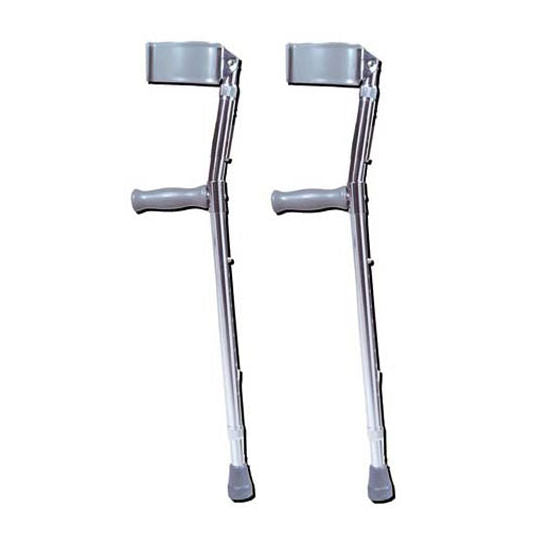 Adjustable Forearm Crutches, 1 Pair-Standard
