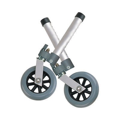 "Drive Swivel Lock 5"" Walker Wheels"