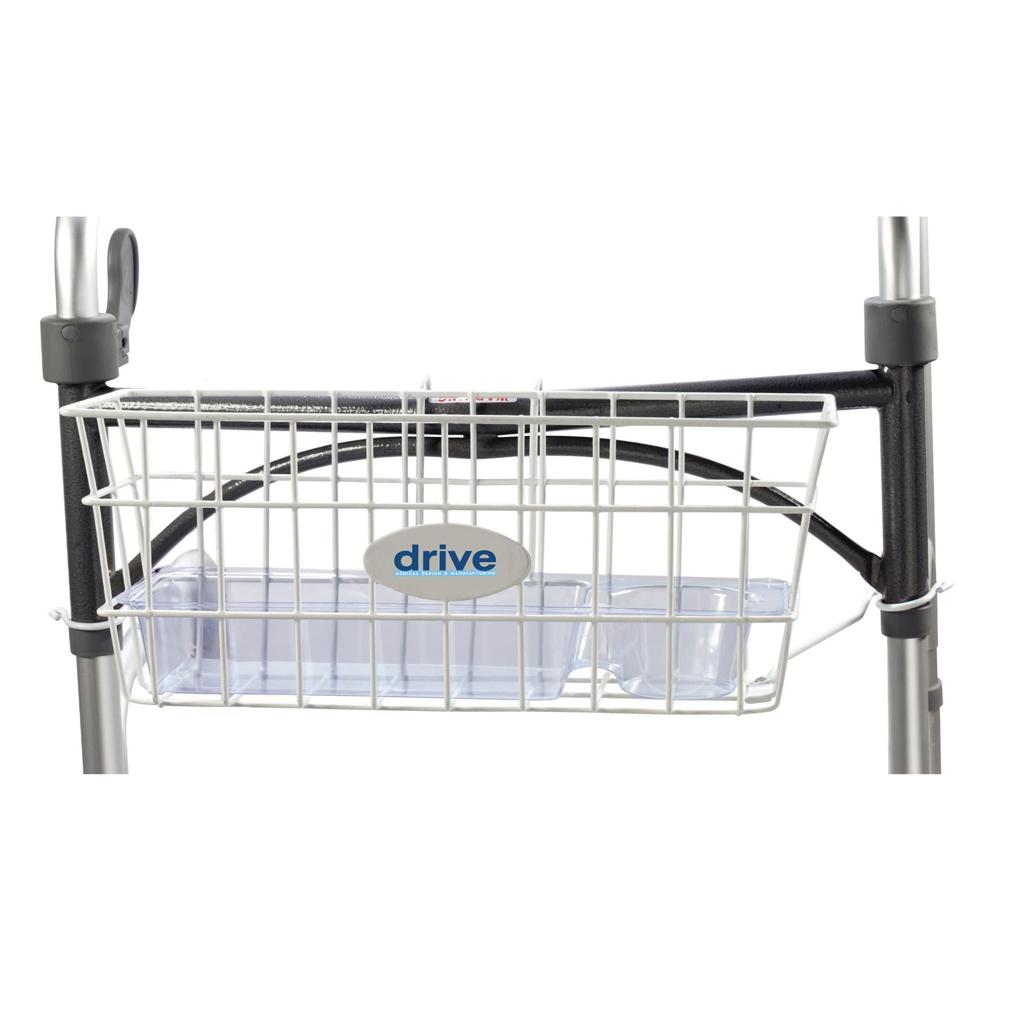"Drive  Walker Basket for 1"" Folding Walkers"