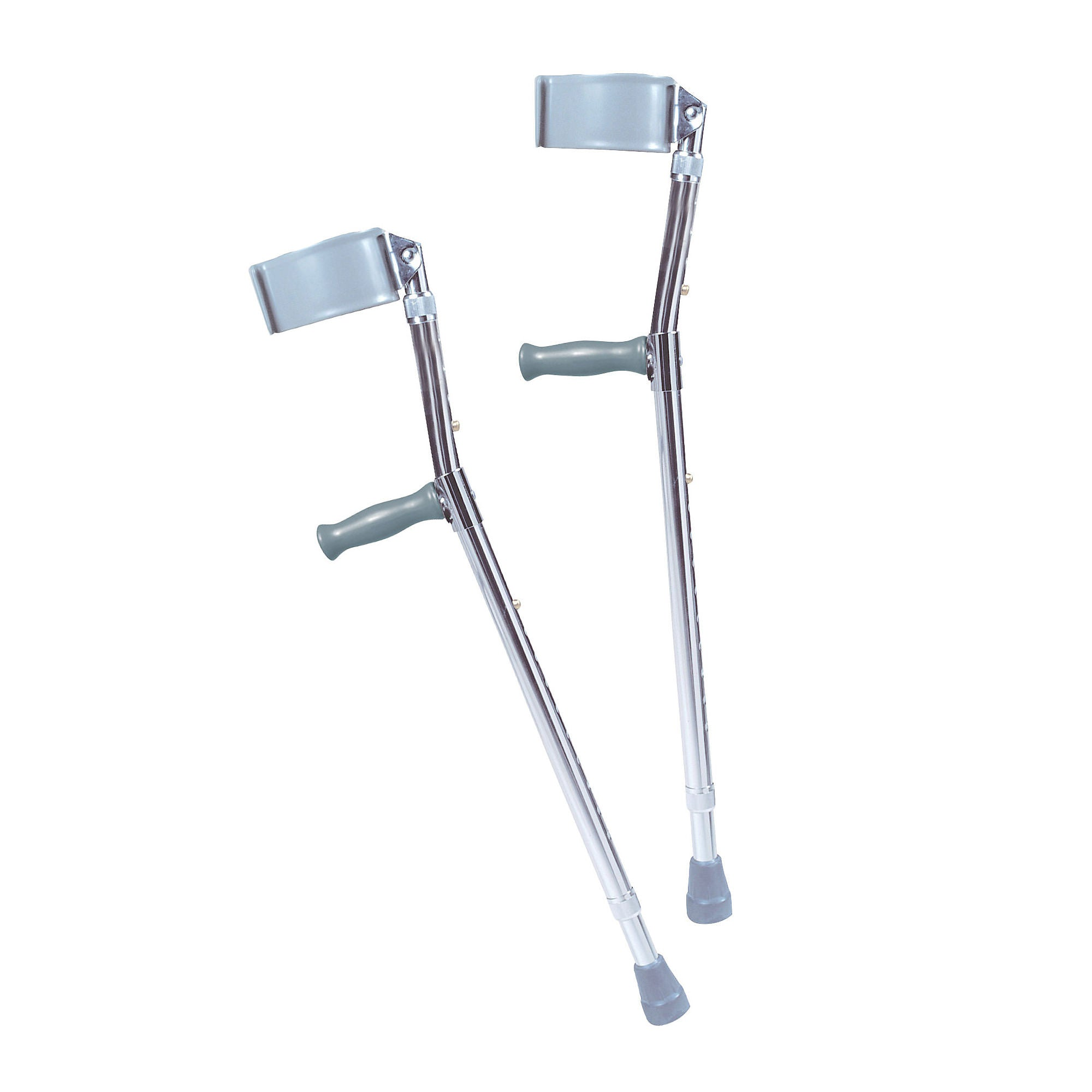 Drive Adult Bariatric Steel Forearm Crutches