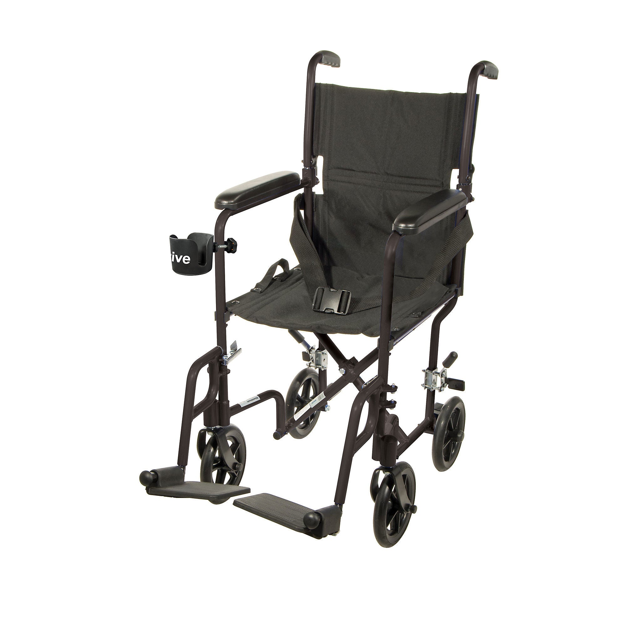 Drive Aluminum Transport Chair - Black