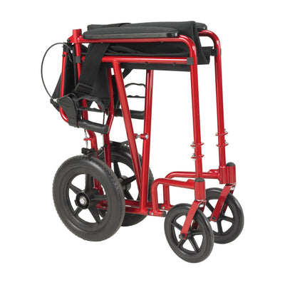 Drive Lightweight Expedition Transport Wheelchair - Folded