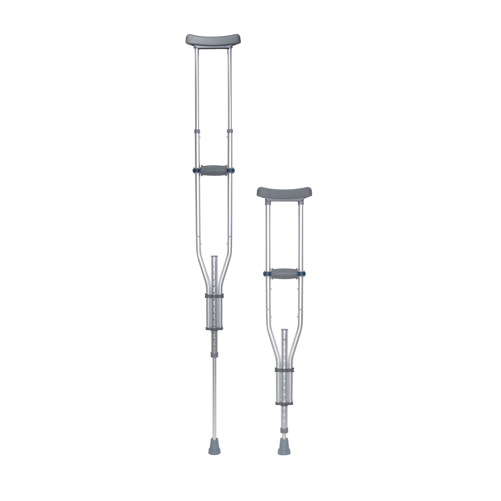 Drive Knock Down Universal Crutches, 1 Pair