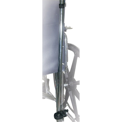 Manual Wheelchair Cane/Crutch Holder