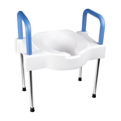 Extra Wide Tall-Ette Elevated Toilet Seat (with or without Legs)