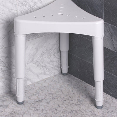 Adjustable Corner Shower Seat