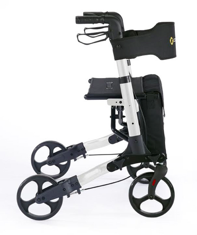 Comodita Brava Compact Rolling Walker - Side view