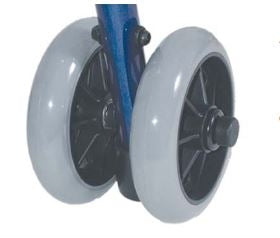 "5"" Dual Rear Wheel Assembly; for 1011 Series Rollator"