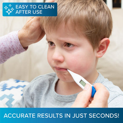 Fast Reading Accurate At Home Digital Thermometer For Oral Use