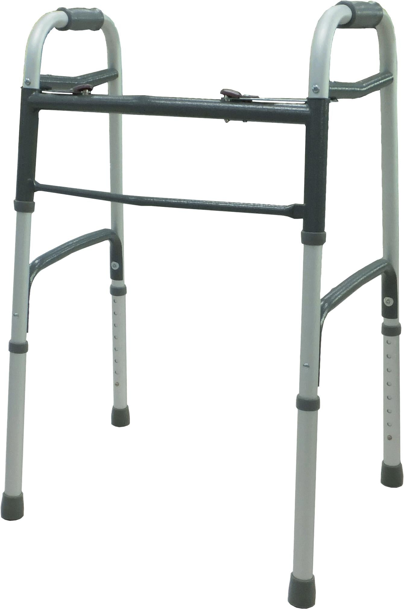 PMI ProBasics Two-Button Steel Walker