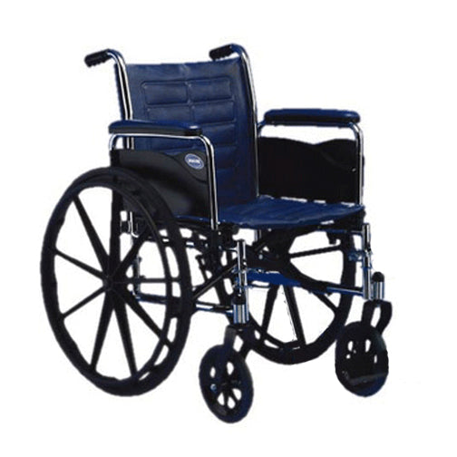 Invacare Tracer EX2 Wheelchair-Removable Full Length Arms