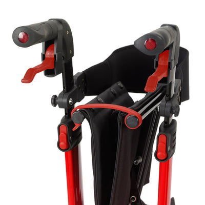 Drive Nitro 4 Wheel Rollator - folded