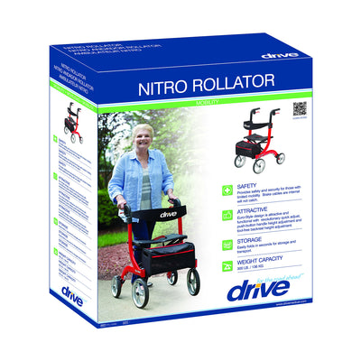 Drive Nitro 4 Wheel Rollator - Packaging