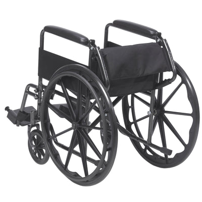 "Drive 18"" Sport Wheelchair with Fixed Armrests"