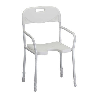 Nova Shower Chair with Arms-With Backrest