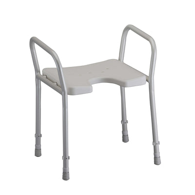 Nova Shower Chair with Arms-Without Backrest