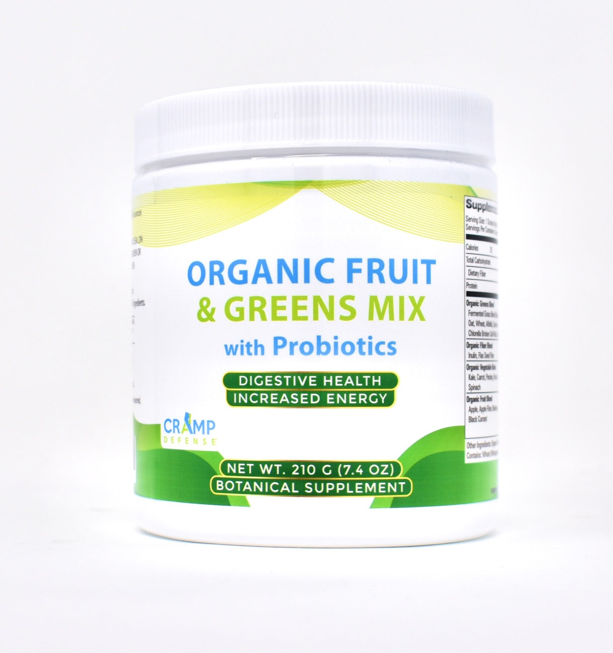 Organic Fruit and Greens Mix w/ Probiotics